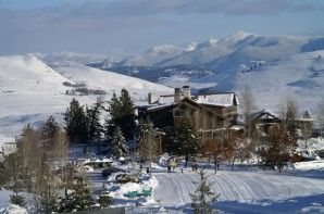 A cross-country skiers paradise... endless trails, breathtaking scenery  and fabulous accommodations[P]Don Portman""