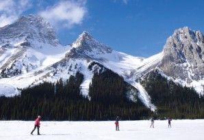 K-Country: stunning terrain and amazing ski options will keep you coming back for more. [P] Kananaskis Country
