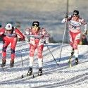(l-r): Cologna, Harvey, Kershaw, Eriksson [P] Nordic Focus