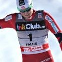 Petter Northug (NOR) wins. [P] Nordic Focus