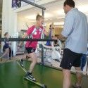 Treadmill Max VO2 Testing [P] courtesy of Sadie Bjornsen