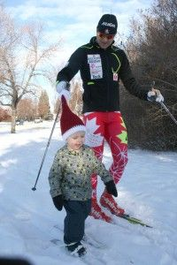 It was great to be home with the family for Christmas and I even got a chance to get out for a ski with my nephew who may just be the next Canadian ski star!