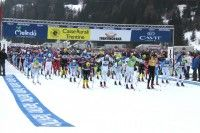 39th Marcialonga gets underway. [P] Worldloppet