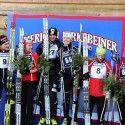 2012 final Birkie podium (l-r) Liebsh, C. Gregg, Elliott, Brooks, B. Greg, Bender  [P] Swix Sport