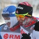 (l) Ilia Chernousov (RUS) and Devon Kershaw (CAN) at the finish [P] Nordic Focus