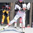Charlotte Kalla (SWE) leads Jessie Diggins (USA) [P] Nordic Focus