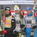 (l-r) Cologna 2nd, Olsson 1sr and Legkov 3rd [P] Nordic Focus