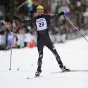 Tad Elliott celebrates his first Birkie win [P] Swix Sport
