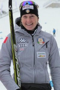 Finlandia Hiihto Women's third place Stephanie Santer (ITA) [P] FIS