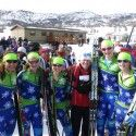 The entire New England J2 Team with coach Liz [P] Gunther Kern