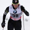 Kikkan Randall (USA) during the Tour de Ski individual sprint in Oberstdorf. [P] Nordic Focus