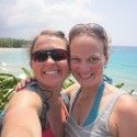 Holly Brooks and her friend Jayne in Hawaii. [P] Holly Brooks