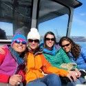 Water taxi to Chrissy's bachelorette. [P] courtesy of  Holly Brooks