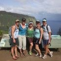 Post-season girls' college reunion in Hawaii. [P] Holly Brooks