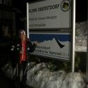 Making a late-night orthopedic clinic visit in Obertsdorf. [P] courtesy of Holly Brooks