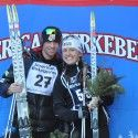 Tad Elliott and Holly Brooks won the 2012 American Birkebeiner. [P] courtesy of Holly Brooks