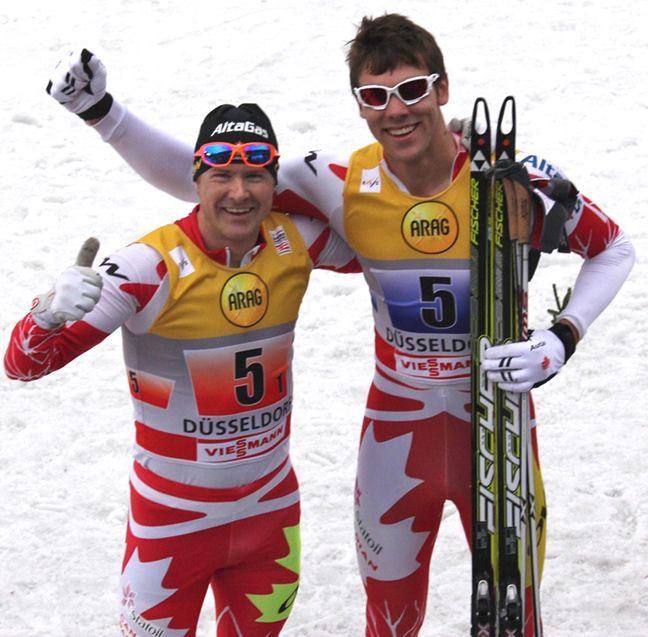 Len Düsseldorf two olympian drew goldsack retires from skiing to focus on