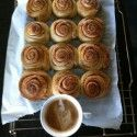 My life-blood: cinnamon buns. These particular ones (coupled with a killer cappo') were lights out [P] courtesy of Devon Kershaw