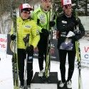 Women's podium (l-r) Jones 2nd, Crawford 1st, Sargent 3rd [P] Craig Douce