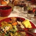 Celebrating early Thanksgiving... complete with all the foods i'll miss out on in Finland!  [P] Holly Brooks