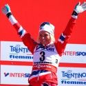 Therese Johaug (NOR) celebrates... [P] Nordic Focus