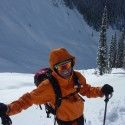 A common sight - me smiling away. Selkirk Mountain Experience is amazing. [P] courtesy of Devon Kershaw