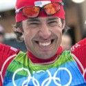 Spillane is all smile winning silver at Vancouver 2010 [P] Heinz Ruckemann