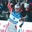 2003 World Championships in Val di Fiemme... GOLD. [P] Fischer