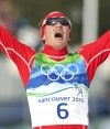 Billy Demong (USA) wins Olympic gold. [P] Heinz Ruckemann