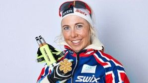 Kristin Stoermer Stiera at the Nordic Worlds in Val di Fiemme (ITA) [P] NordicFocus