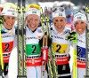FIS nordic world ski championships, cross-country, 4x5km women, Val di Fiemme (ITA)