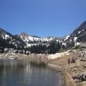 Lake Mary, a short hike into the Brighton Alpine area. [P] Jessie Diggins