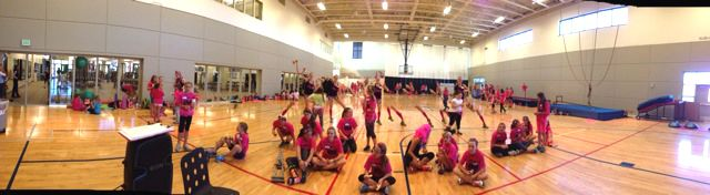 Fast and Female 4hr event with 138 girls © courtesy of Kikkan Randall