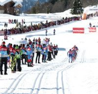 FIS world cup cross-country, 4x7.5km men, La Clusaz (FRA)