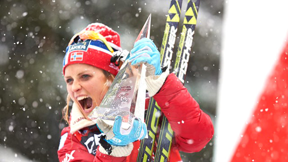 Therese Johaug wins the TdS 2014 [P] Nordic Focus