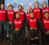Members of Team Canada for the 2014 Sochi Paralympic Games. [P] Canadian Paralympic