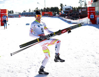 Alex Harvey (CAN) celebrates [P] Nordic Focus
