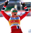 FIS world cup cross-country, skiathlon women, Falun (SWE)