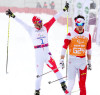 McKeever (l) and Nishikawa win gold [P]