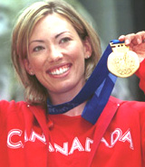 CANADA'S BECKIE SCOTT RECEIVES OLYMPIC GOLD IN VANCOUVER