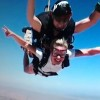 Diggins skydiving in Arizona [P] courtesy of Jessie Diggins