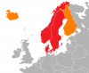 Map Scandinavia [P] Wikipedia