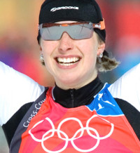 CANADA WINS GOLD IN WOMEN'S SPRINT OF CROSS COUNTRY SKIING AT THE 2006 TORINO WINTER OLYMPICS