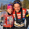 Kikkan Randall and Matt Whitcomb [P] courtesy of Xcountry Live