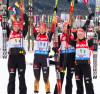 IBU world cup biathlon, relay women, Hochfilzen (AUT)