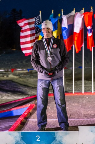 Andy Soule (USA) wins bronze in Cable. [P]James Netz