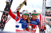 Norway's Falla (l) and Oestberg [P] Nordic Focus