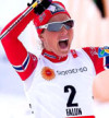 FIS nordic world ski championships, cross-country, skiathlon women, Falun (SWE)