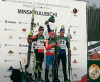 Junior M IBU Sprint podium - Doherty (#21) [P]