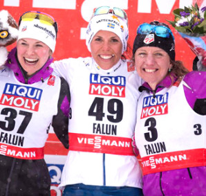FIS nordic world ski championships, cross-country, 10km women, Falun (SWE)